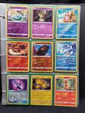 Pokemon Cards In Pages Halos Japanese