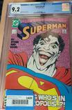 DC Comics Superman #9 Graded 9.2