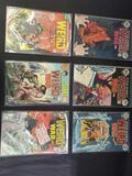 6 Weird war comics DC Comics