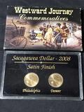 2008 Sacagawea Dollar Satin Finish Commemorative Set