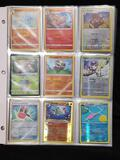 Pokemon Cards in Pages Holos