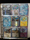 Binder with Pokemon Cards in Pages
