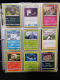 Binder Full of Pokemon Cards in Pages