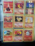 Binder Full of First Edition Holos Pokemon Cards