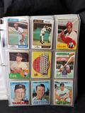 Binder Full 1960s 1970s Baseball Cards