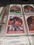 89-90 hoops basketball binder
