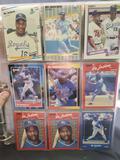 Baseball card binder 90's