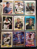 Baseball binder 90's