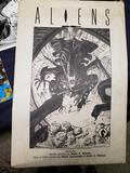 Aliens Featuring Seven Plates by Mark a Nelson plus a mini comic