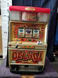 Vintage Japanese Eleco Delsol Slot Machine