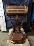 1913 Dayton Barrel Style Type 144 Calculating Candy Scale