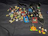 Disneyland Collector pins and Lanyards