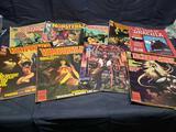 Vintage comics Vampirella. Ozzy Osbourne. Monsters. The Tomb of Dracula