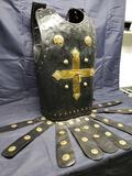 Leather Armour Breast plate with Embellishing