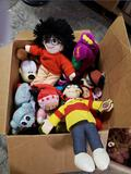 Mixed lot of new Stuffed toys. Mickey and Minnie odie Barney Curious George and more