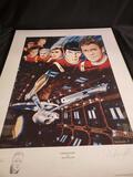 Star Trek framed picture