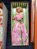 Avon Strawberry Sorbet Barbie. Spring Petals Barbie. Denim Debbies design a fashion paper doll kit.