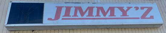 Jimmyz outdoor sign 30? x 15?