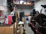 Contents of area Chairs Christmas spare parts misc