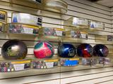 Brand new undrilled bowling balls