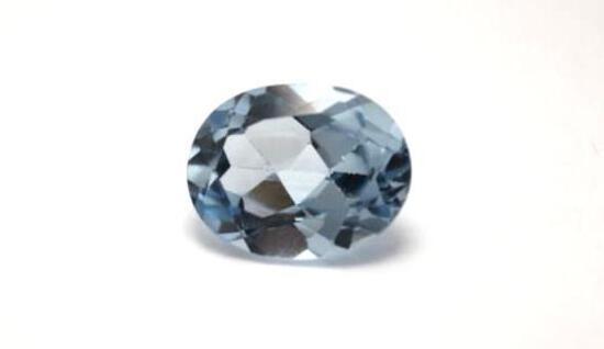 4.94ct Natural Aqua Marine Gem Stone Gorgeous Blue Hues