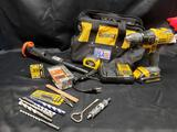 Dewalt 20V Max with Lithium ion charger. Ramset