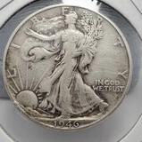 Walking liberty half 1946 xf+ nice better shape 90% silver