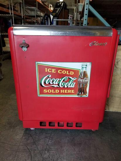 50s-60s Coca-Cola Glasco GBV-50 Soda Cooler