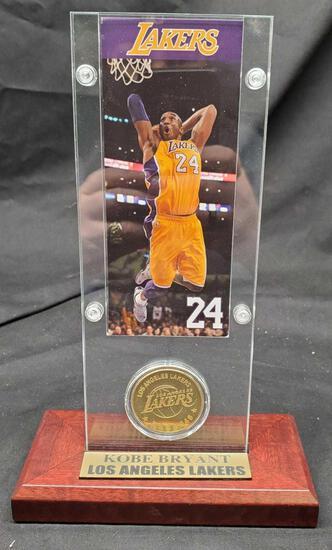 Kobe Bryant Los Angeles Lakers coin