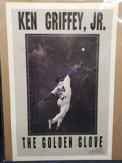 Ken Griffy Jr. The Golden Glove small poster. And Poster of Rey Mysterio