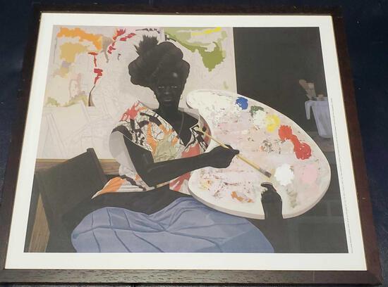 "Kerry James Marshall ""untitled"" 2009 Acrylic on PVS Panel"
