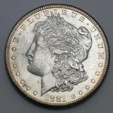 1881 Morgan silver dollar 90% full face and date