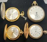 Pocket Watches, Fayhs Montauk No. 1, Colibri, 4 Units