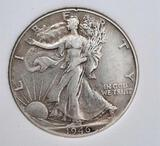 Walking liberty half 1946 AU++ slabed beauty 90%silver coin