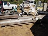 Pallet of 12 Foot 8x12s Wood Fans Pump