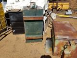 Metal Toolboxes Cart Cabinet 6 Units