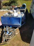 11 Foot Utility Trailer Full of Contents