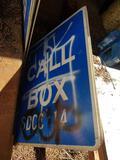 Fiberglass Call Box Signs 10 Units
