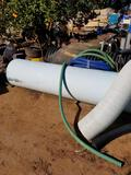 Pile of Large PVC Pipes