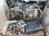 Water Pump Motors 2 Units Couplings