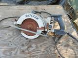 Skilsaw Model 77 Worm Drive Saw