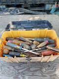 Craftsman Tool Box Full of Screwdrivers