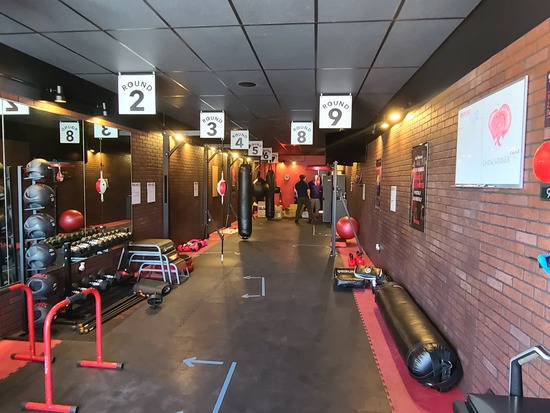9 Round Kickboxing Gym Auction