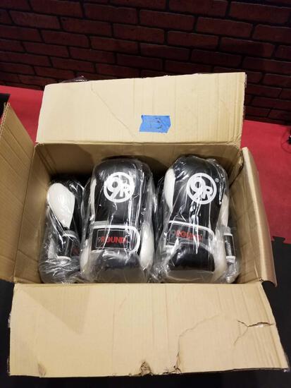 Box Full of New Boxing Gloves 12 Units