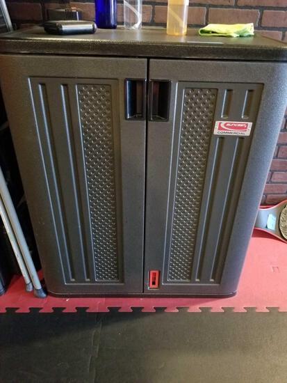 Short Suncast Commercial storage Cabinet
