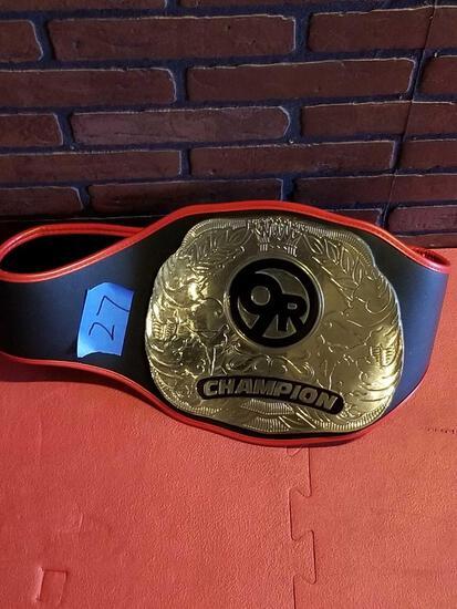 9Round Champion Belt
