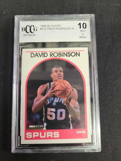 1988-90 Hoops #310 David Robinson IA Mint 10 or better