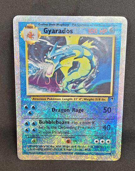Pokemon card Reverse holo Gyarados LC
