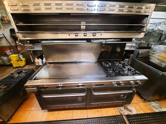DCS Griddle Stove & Double Oven + Salamander
