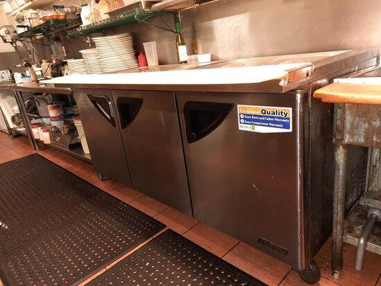 Turbo Air Refrigerated Prep Line Table